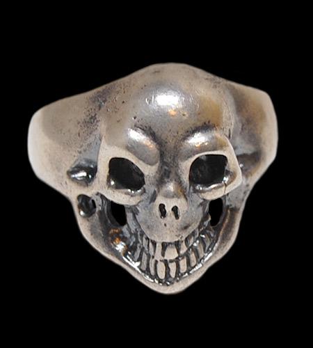 GABORATORY/GABOR/ガボール/ガボラトリー Old Single Skull Ring [R-16] gaboratory/gabor/ガボール/ガボラトリー/silver 正規取扱店/シルバー メンズ アクセサリー リング スカル 925 シルバー925
