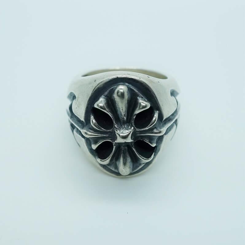 GABORATORY/GABOR/ガボール/ガボラトリー Cross Oval Signet Ring [R-17] 正規取扱店 シルバー メンズ アクセサリー リング クロス シルバー 925