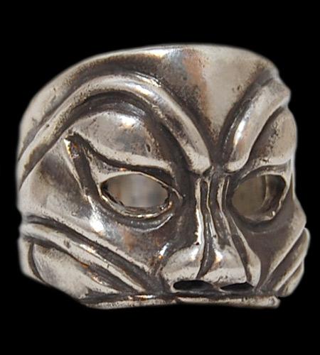 GABORATORY/GABOR/ガボール/ガボラトリー Mask Ring [R-18] gaboratory/gabor/ガボール/ガボラトリー/silver 正規取扱店/シルバー メンズ アクセサリー リング 925 シルバー925