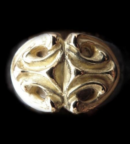 18k Gold Sculpted Oval On Ring [18k-12] gaboratory gabor ガボラトリー ガボール silver 正規取扱店/シルバー メンズ アクセサリー リング ゴールド 925 シルバー925