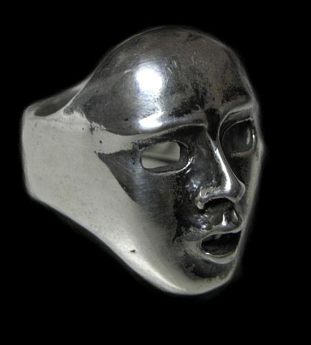 GABORATORY/GABOR/ガボール/ガボラトリー Face Ring [R-20] gaboratory/gabor/ガボール/ガボラトリー/silver 正規取扱店/シルバー メンズ アクセサリー リング 925 シルバー925