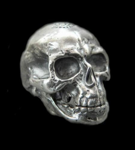 GABORATORY/GABOR/ガボール/ガボラトリー Half Large Skull Full Head Ring [R-26] gaboratory/gabor/ガボール/ガボラトリー/silver 正規取扱店/シルバー メンズ アクセサリー リング スカル 925 シルバー925