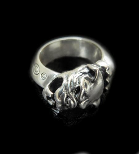 gaboratory gabor ガボラトリー ガボール Single Old Bulldog Triangle Wire Bangle Ring [R-43] silver 正規取扱店/シルバー メンズ アクセサリー リング ブル 925 シルバー925