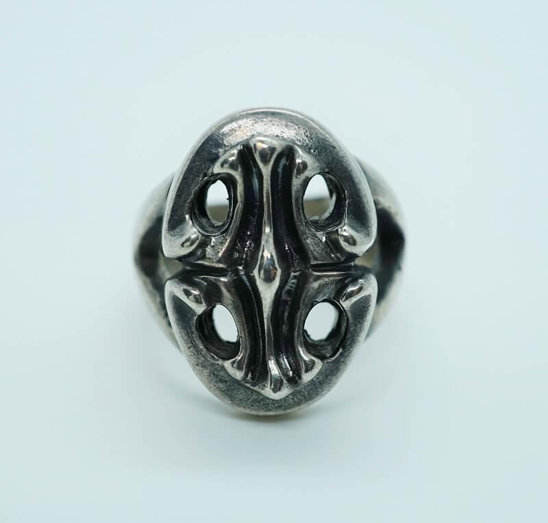 GABORATORY/GABOR/ガボール/ガボラトリー Classic Sculpted Oval Ring[R-80] silver 正規取扱店 シルバー メンズ アクセサリー リング クロス シルバー 925