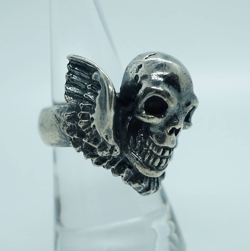 gaboratory gabor/ガボラトリー/ガボール Skull Wing Ring [R-98] silver 正規取扱店 シルバー メンズ アクセサリー リング スカル シルバー 925