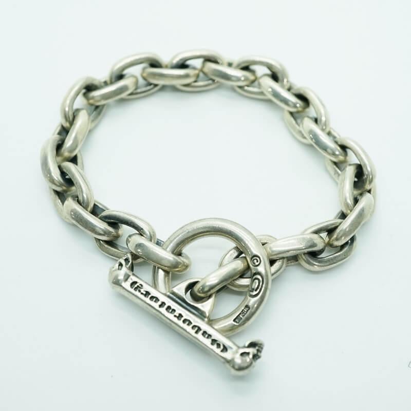 GABORATORY GABOR ガボール ガボラトリー Small Oval Chain Link Bracelet [B-95] gaboratory gabor/ガボラトリー/ガボール/silver 正規取扱店/シルバー メンズ アクセサリー ブレスレット 925 シルバー925