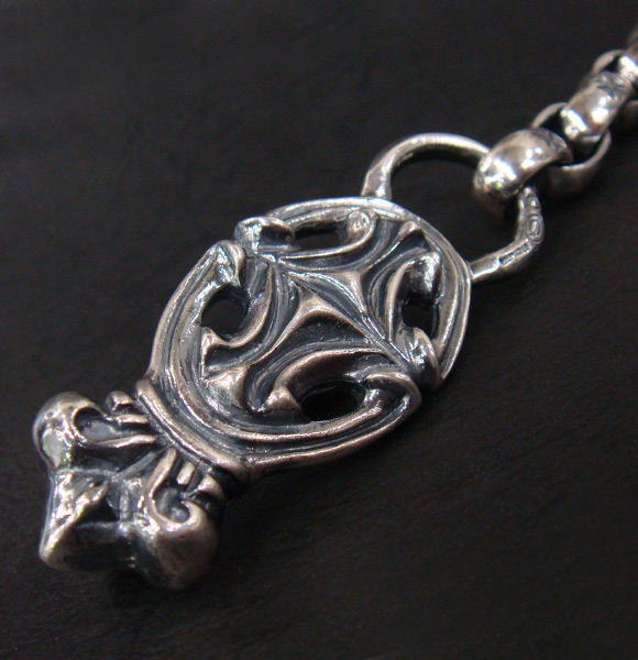 GABORATORY GABOR ガボール ガボラトリー Sculpted Oval With CrownAll H W O Links Wallet ChainWC 09silver 正規取扱店 シルバー メンズ アクセサリー ウォレットチェーン クラウン 925 シルバー925eDHYbWIE29