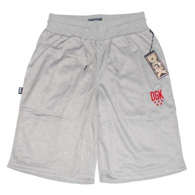 DGK FLIGHT ATHLETIC SHORTS (GRAY)