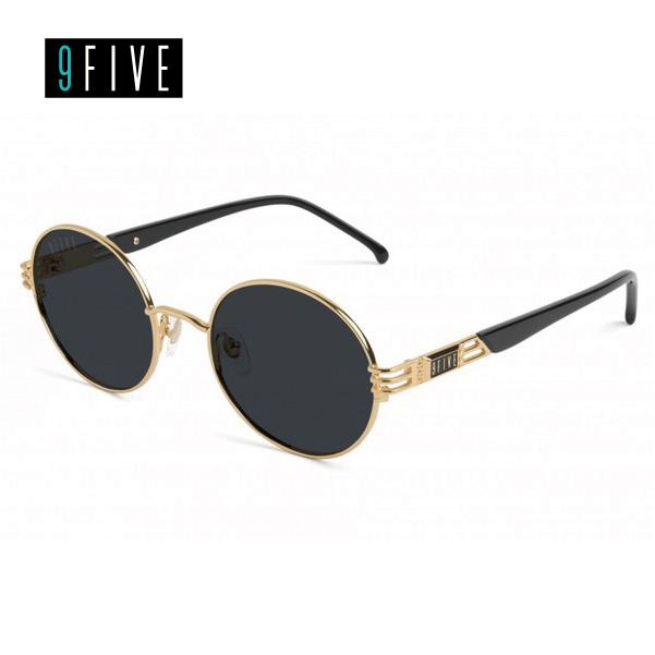 ナインファイブ 9FIVE IRIS BLACK & 24K GOLD SHADES アイリス ブラック&24Kゴールド サングラス メガネ 眼鏡