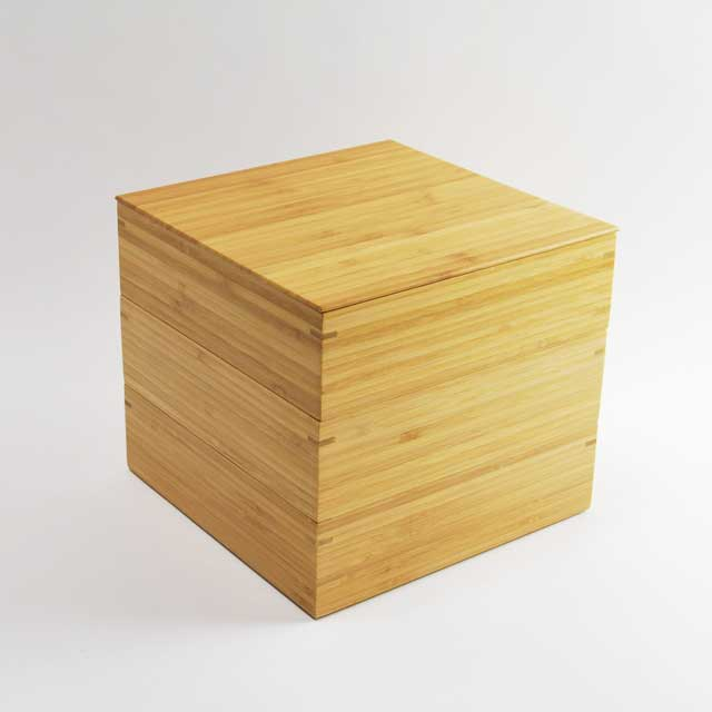 【公長齋小菅】6.5寸 三段重箱 【送料無料】