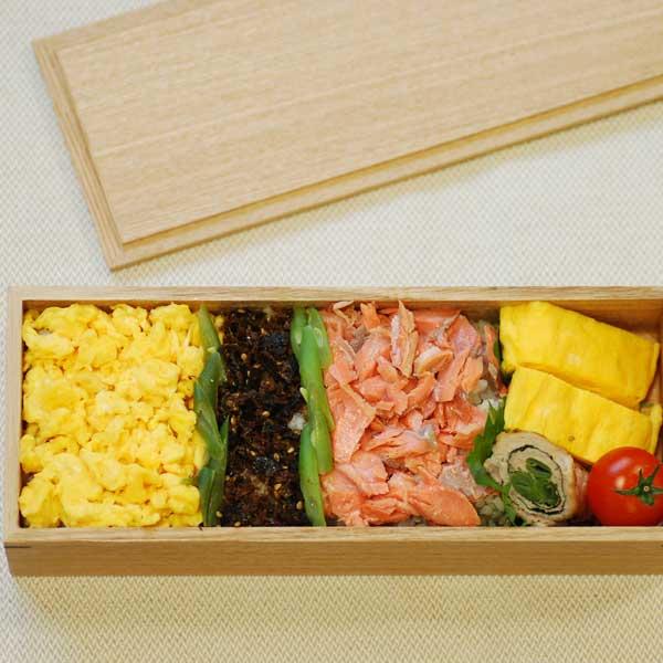 【松屋漆器店×POST DETAIL】長角一段弁当箱大 ナチュラル 【あす楽】【送料無料】