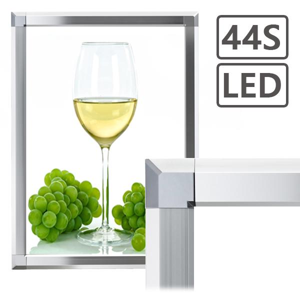 PGライト LEDスリム44S シルバー A0(841×1189mm) 屋内用 シンエイ社製
