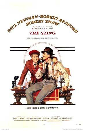 スティング オリジナルポスター / ポール・ニューマン / ロバート・レッドフォード
