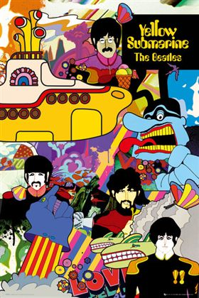 ビートルズ ポスター The 5%OFF Beatles 130513 Yellow Submarine SALE