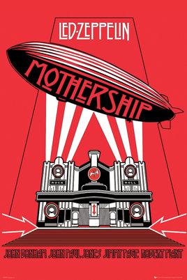 レッド ツェッペリン ポスター Mothership Zeppelin Led 2020モデル 売店