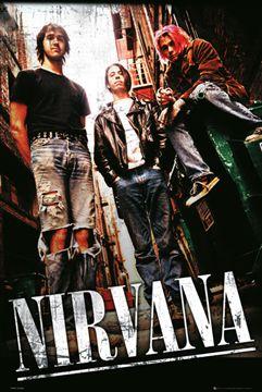ニルヴァーナ ポスター Nirvana 迅速な対応で商品をお届け致します 130829 配送員設置送料無料 Alley