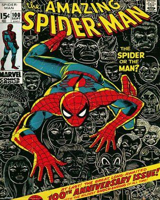 スパイダーマン 税込 ミニポスター Spider-man Cover 140423 買取
