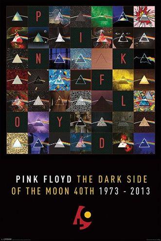 ピンク フロイド ポスター PINK FLOYD- 驚きの価格が実現 DARK 輸入 SIDE 130628 ANNIVERSARY MOON 40TH OF THE
