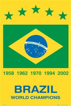 ブラジル 激安 激安特価 送料無料 ワールドチャンピオンズ ポスター Brazil 140206 Champions World 《週末限定タイムセール》