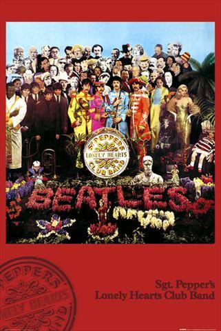 訳あり品送料無料 ザ ビートルズ ポスター The Beatles Sgt 超目玉 Pepper 150225