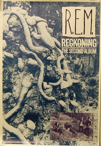 ヴィンテージ プロモーショナル ポスター R.E.M. REM