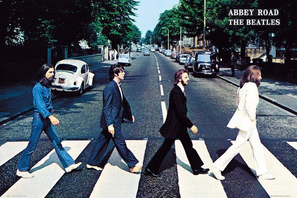 MLP039 ザ ビートルズ アビイ ロード ポスター アビー Beatles 人気 おすすめ 驚きの値段で Abbey Tracks Road The