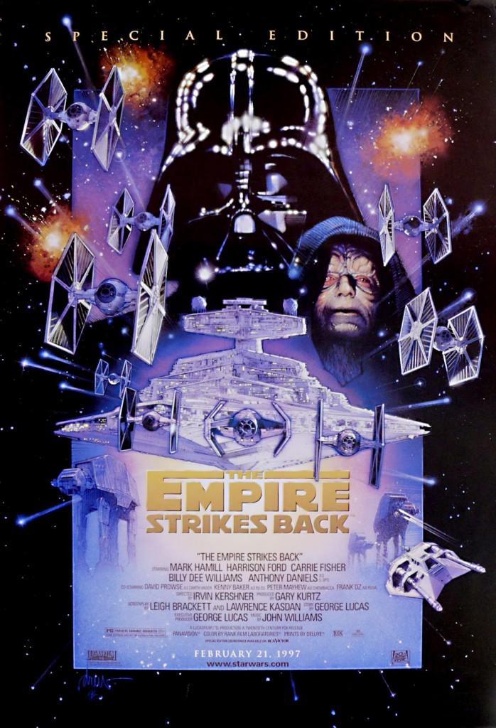 スターウォーズ 特別偏 トリロジー 帝国の逆襲 オリジナルポスターStar Wars: Special Edition/ The Empire Strikes Back
