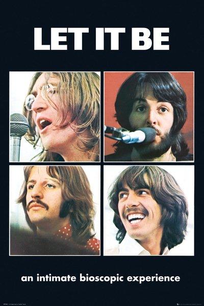 ザ ビートルズ ポスター The Beatles Be It 141002 Let 上等 予約販売