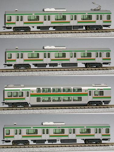 KATO Nゲージ E231系東海道線・湘南新宿ライン増結A 4両セット 鉄道模型 10-595