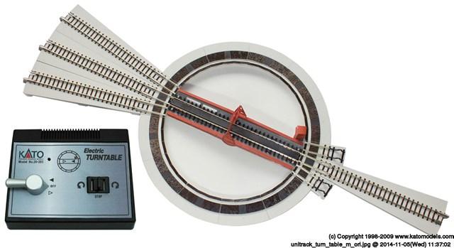 KATONゲージ 電動ターンテーブル 鉄道模型パーツ 20-283