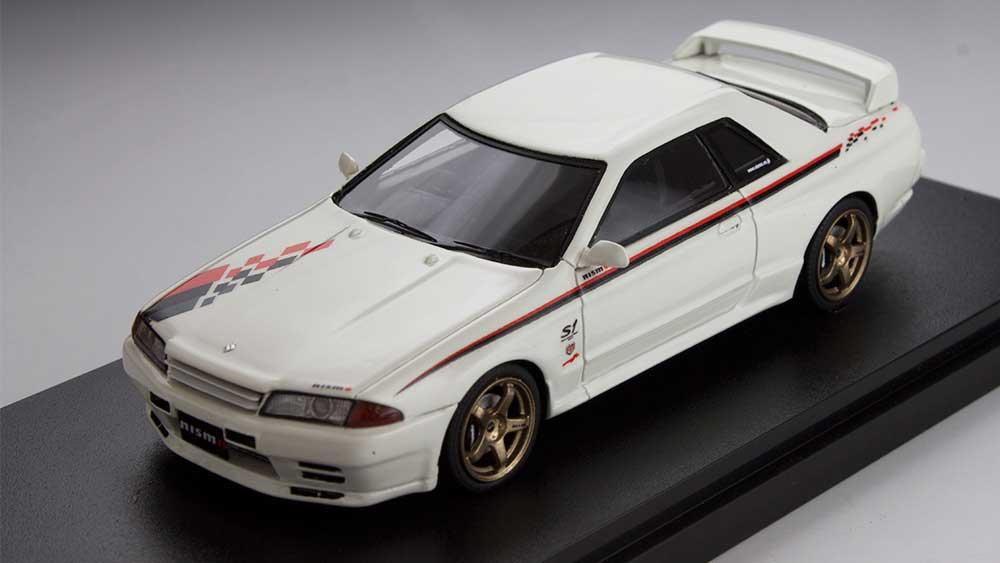 ミニカー 1/43 マーク43 MARK43(PM4326W) ニッサン スカイライン GT-R (R32 ニスモ S-Tune) ホワイト
