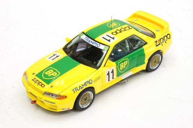 ミニカー 1/43 京商 KYOSHO BP オイル トランピオ GT-R(BNR32) 1993年 JTC #11 横島 久/トム・クリステンセン(03225E) グループA