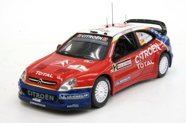 土日出荷可能 人気 おすすめ ミニカー 1 43 イクソ ixo シトロエン クサラ C.Sainz トルコラリー 新品 2005年 RAM197 M.Marti #2 WRC