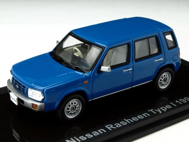 ミニカー 1/43 LUMINO ニッサン ラシーン タイプ1 1994年 ブルー(420162)