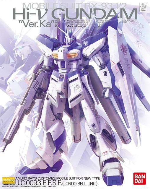 バンダイ MG 1/100 RX-78-V2 Hi-νガンダム Ver.Ka 「機動戦士ガンダム 逆襲のシャア」より ガンプラ 4543112920782