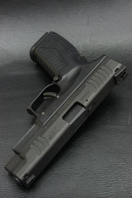 ガスガン ポストホビー POST Hobby スプリングフィールド XDM.40 リアル刻印カスタム ガスブローバック()