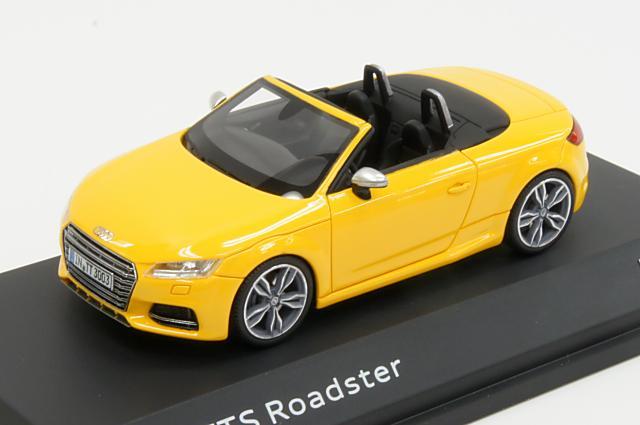 ミニカー 1/43 アウディ特注/ネオ Audi/NEO(5011410513) アウディ TTS ロードスター 2014年 ベガスイエロー