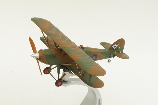 コーギー CORGI (AA27302) 1/72 ホーカー フューリー イギリス空軍 第43飛行中隊 ミュンヘン危機 1938年【飛行機】【模型】【完成品】【戦闘機】