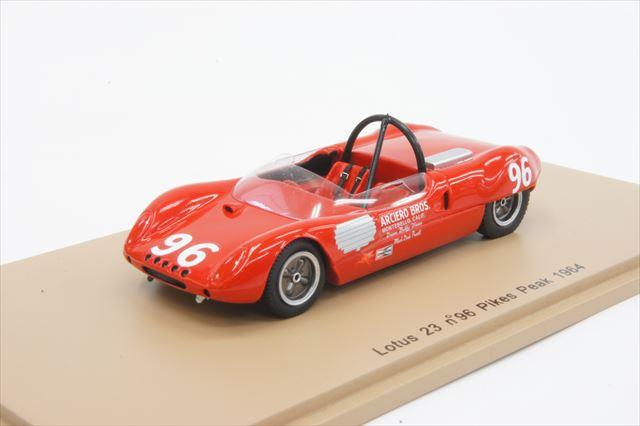 土日出荷可能 ミニカー 1 43 スパーク Spark PP003 Unser 1964年 パイクスピーク Bobby ロータス 新品未使用 No.96 23 期間限定お試し価格