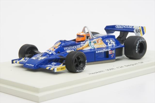 闪光Spark(S2233)1/43 hesukesu 308E 1977年比利时GP No.24 R.Keegan