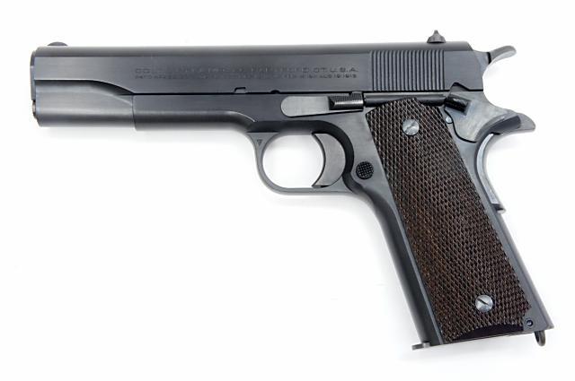 モデルガン 六研 / エラン ROCKEN/ELAN コルト 1911 ニュースタイルスライドマーキング Famous Movie Gun Series