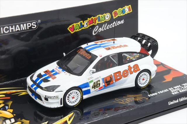【大注目】 ミニカー 1/43 ミニチャンプス MINICHAMPS(400078446) フォード フォード ミニカー Rossi/Cassina フォーカス RS WRC