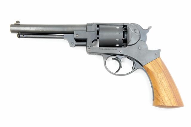 ハートフォード HWS スタール M1858 ダブルアクション・アーミーリボルバー 壬申刻印モデル ヘビーウエイト 発火モデルガン()