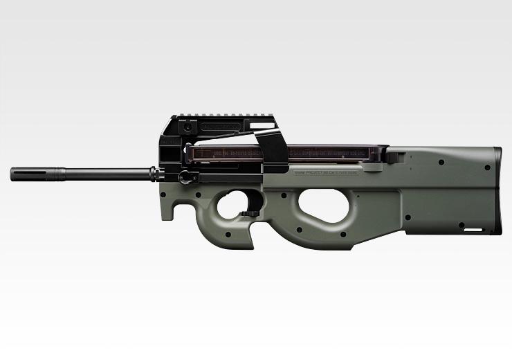 電動ガン 東京マルイ TOKYO MARUI FN PS90 HC・フォリッジグリーンストック ハイサイクルカスタム (7)