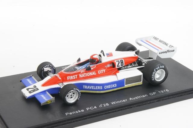 閃光Spark(S3370)1/43便士鍵PC4 1976年otosuraria GP勝利No.28 J.Watson