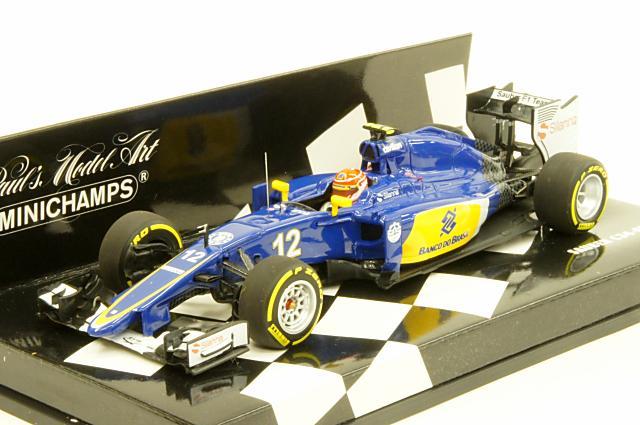 ミニカー 1/43 ミニチャンプス MINICHAMPS(417150012) ザウバー F1チーム フェラーリ C34 2015年 本選仕様 No.12 F.ナスル