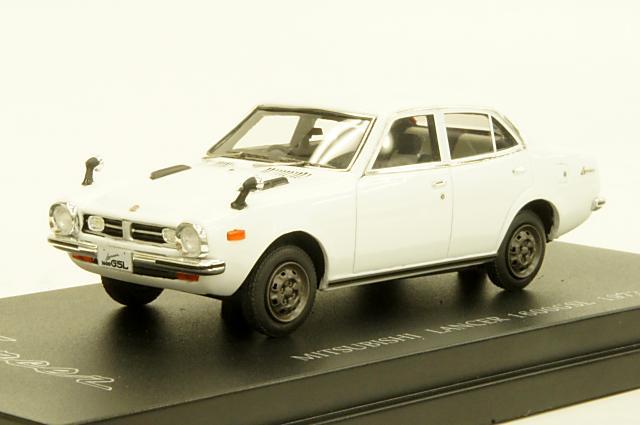 ミニカー 1/43 カム CAM (C43035) ミツビシ ランサー 1600 GSL(A73) 1973年 ホワイト