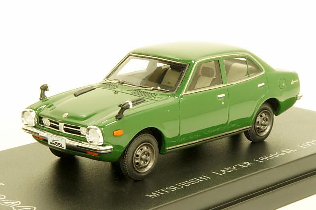 ミニカー 1/43 カム CAM (C43036) ミツビシ ランサー 1600 GSL(A73) 1973年 グリーン