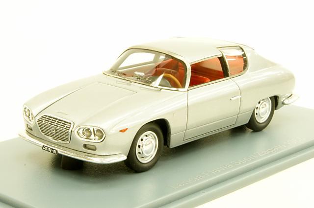 ミニカー 1/43 ネオ NEO (NEO45168) ランチア フラヴィア スポルト ザガート 1966年 シルバー