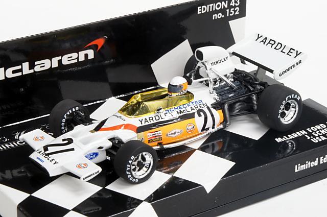 本物の ミニカー 1/43 1/43 J.Scheckter ミニチャンプス MINICHAMPS(530720021) マクラーレン フォード M19 アメリカGP 1972年 アメリカGP No.21 J.Scheckter, カマエチョウ:bbec84af --- canoncity.azurewebsites.net